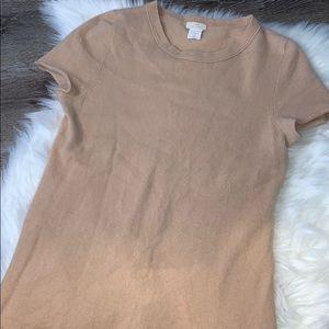 J. Crew cashmere shirt